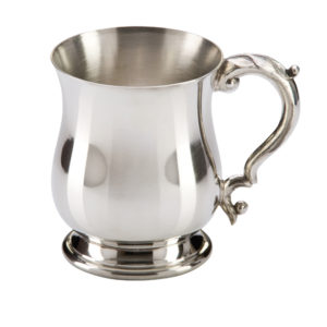 Georgian Pewter Tankard 1pt