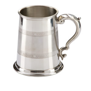Celtic Band Pewter Tankard