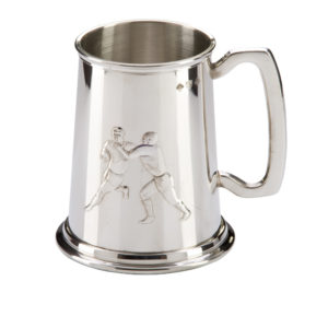 Classic Rugby Pewter Tankard