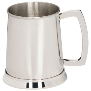 Polished Steel Tankard